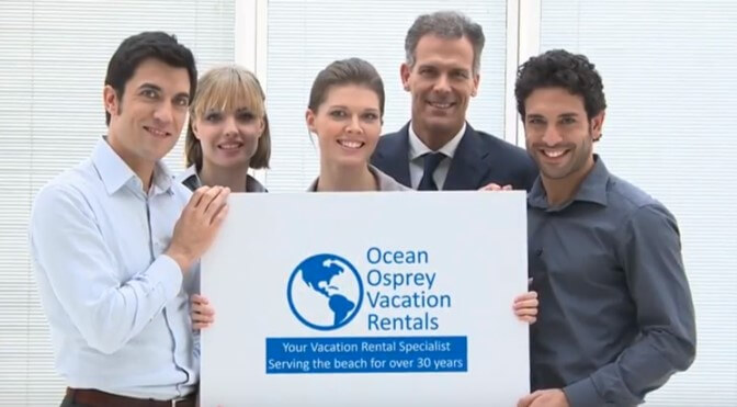 Ocean Osprey Vacation Rental Staff